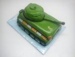 dort zelený tank