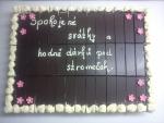 velký dort